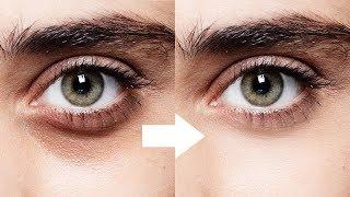 1-Minute Photoshop - Remove Dark Circles Naturally