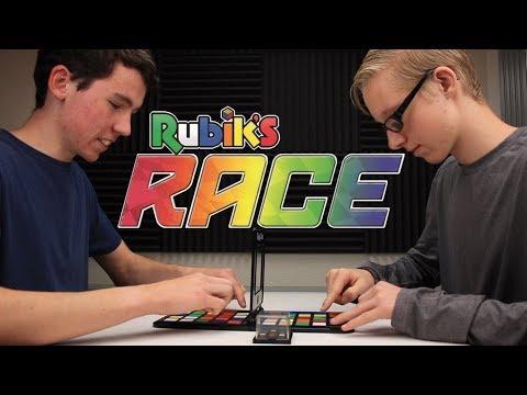"Playing the ""Rubik's Race"" Board Game!"
