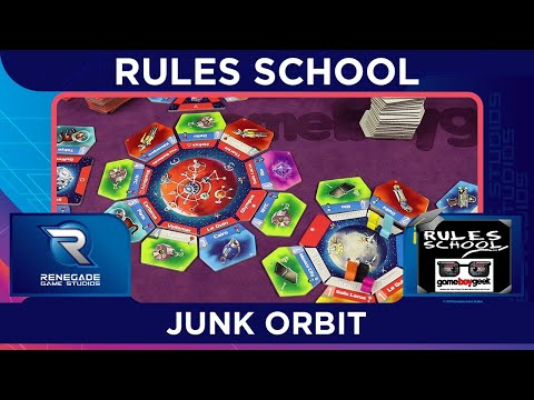 Learn How to Play Junk Orbit (Rules School) with the Game Boy Geek