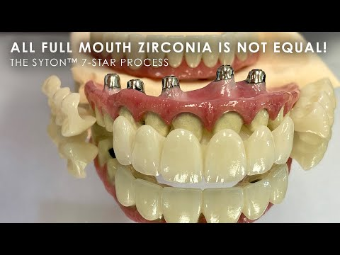 All Full Mouth Zirconia is not Equal!