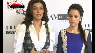 Sushmita Sen & Rouble Nagi Host Power  Luncheon For  I AM Foundation  1