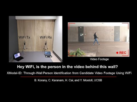 Your Video Can ID You Through Walls