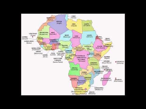 Capitales de África ASMR  ❤️Isbett❤️