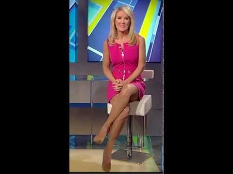Heather Childers sexy thigh show