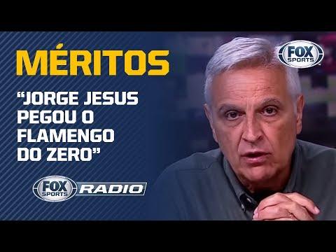 'Ele pegou o Flamengo do zero': Sormani explica méritos de Jorge Jesus no sucesso do Flamengo