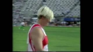 Ilke Wyludda 62.16m Discus - 1992 Olympic