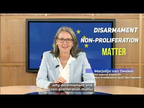 In 60 seconds | Marjolijn Van Deelen | Why does disarmament matter?