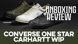 UNBOXING+REVIEW - Converse One Star x Carhartt WIP 7f6341503