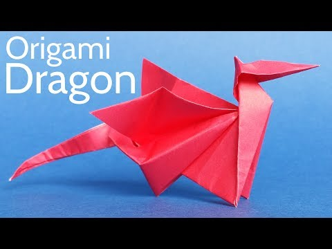 Easy Origami Dragon Tutorial - Step by Step Instructions to Make an Easy but Cool Origami Dragon!