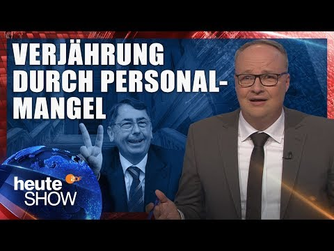 Deutschlands Gerichte werden kaputtgespart   heute-show vom 13.10.2017