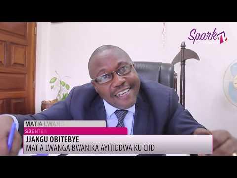 Matia Lwanga Bwanika ayitiddwa ku CIID abitebye eby'okugugugulana n'abasima omusenyu