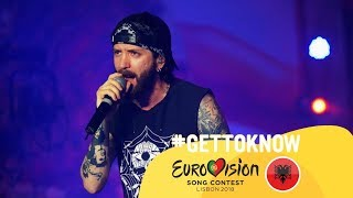 ESC 2018: Get to Know.... EUGENT BUSHPEPA from ALBANIA | Eurovision Song Contest 2018 🇦🇱