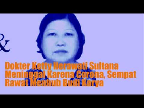Dokter Ketty Herawati Sultana Meninggal Karena Corona, Sempat Rawat Menhub Budi Karya