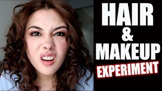 """How to be you po?"" Makeup & Hair Experiment!!"