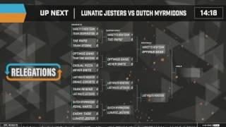 Smite Season 4 Open Brackets EU - Week 2 ( Live (