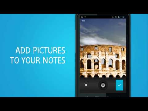 Video of m>notes notepad free