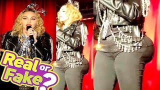 Madonna  Fans Question How Did The 60 Year Old Singer Get Caked Up So Fast.