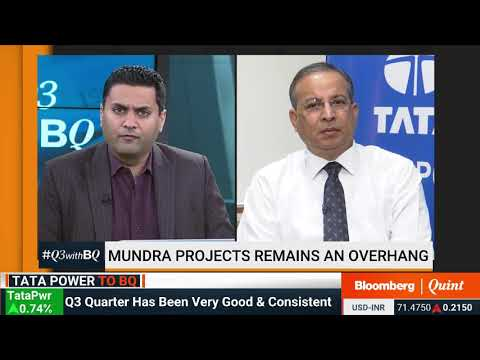 Mr Praveer Sinha CEO and MD, TATA Power: Interview with BloombergQuint