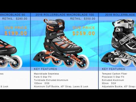 Video: 2016 Rollerblade Men