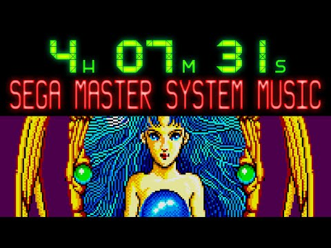 Over 4 hours of Master System music