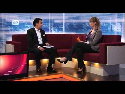 Dirk Magnutzki im TV- Interview zu seinem neuen Buch, Pecunia Versicherungsratgeber