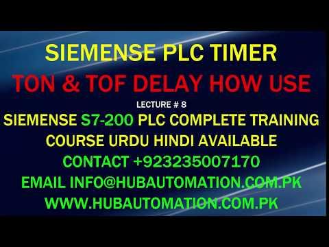 s7 200 timer dalay off and simulator - смотреть онлайн на