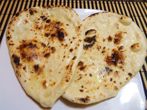 Tawa Naan- Naan without yeast(no oven)