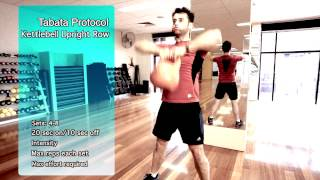 Home Fat Loss Workout 7 - Tabata Kettlebell Workout by Nick Hall