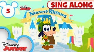 Sing-Along Nursery Rhymes Part 5 | 🎶Disney Junior Music Nursery Rhymes | Disney Junior