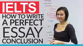 How to write a perfect IELTS essay conclusion