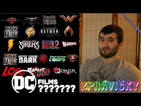 Plány Warner Bros a DC Films | DC ZPRÁVIČKY | FloTin