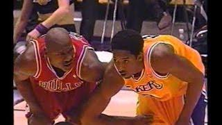 Michael Jordan vs Kobe Bryant Full Highlights 1998.02.01 Bulls at Lakers - Sick!!!