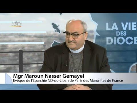 Mgr Maroun Nasser Gemayel - Eparchie Notre-Dame du Liban