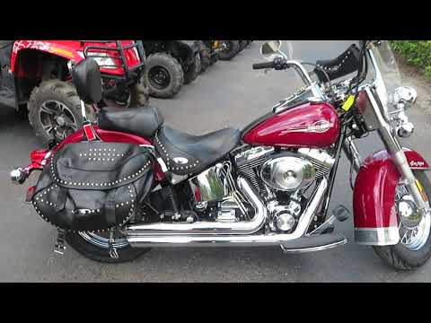 2006 Harley-Davidson FLSTC Heritage in Sanford, Florida - Video 1