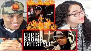 CHRIS BROWN FREESTYLES ON FUNK FLEX!!! REACTION | Chris Brown Freestyles Started from the Bottom