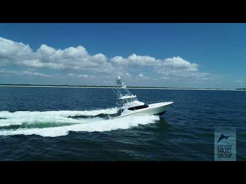 Hatteras 60 Convertible video