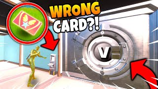 What Happens When You Use the WRONG Keycard at a Vault? (CRAZY)