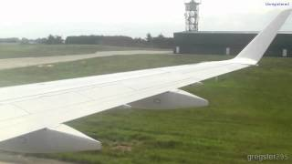preview picture of video 'Flybe's Embraer E175 G-FBJD ONBOARD Landing + Taxi Jersey CI UK! 30th June 2012'