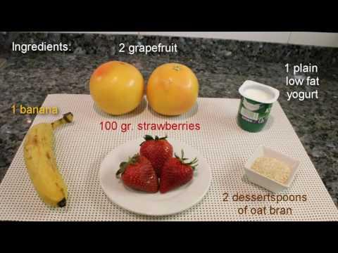 Repas simples pour brûler les graisses