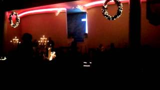 Charlotte church singing silent night