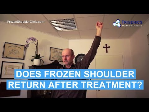 Did His Frozen Shoulder Come Back After His Trigenics OAT Procedure?