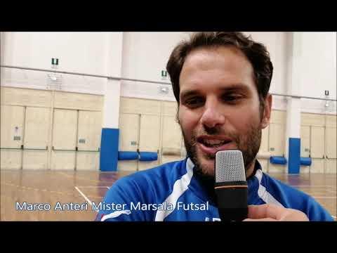 immagine di anteprima del video: Marsala Futsal - Pol. Alqamah 2-4 il commento nel post gara di Mister Anteri