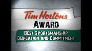 2012 Halifax Mooseheads Awards - Best Sportsmanship