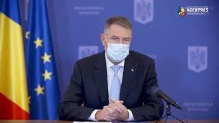 Iohannis: Mă voi vaccina public vineri, 15 ianuarie
