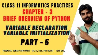 [Hindi] How to Declare\Initialize a variable in python| NameError: name 'a' is not defined in python