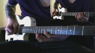 Falconer - For Life and Liberty   Guitar Cover - Lead and Rythm