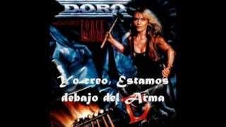 Doro Under The Gun Subtitulado (Lyrics)