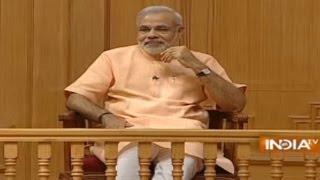 Gujarat CM Narendra Modi in Aap Ki Adalat ( Full Episode