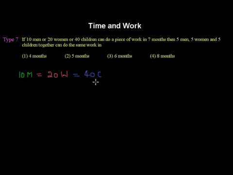 Time and Work 7