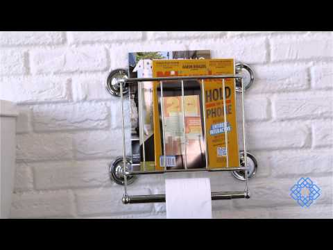 Video for Neu Home Bath Tissue Dispenser Magazine Rack, Chrome